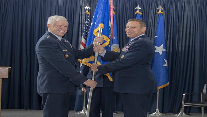 ANGRC welcomes new commander