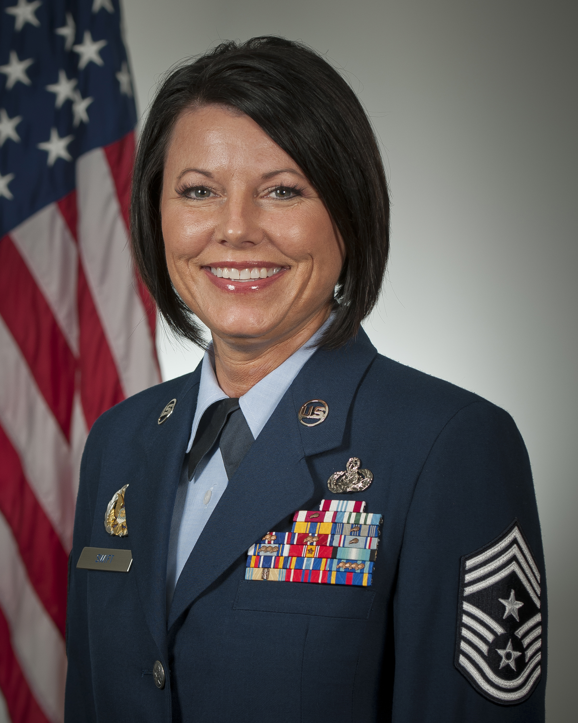 CMSgt. Nikese R. Swift