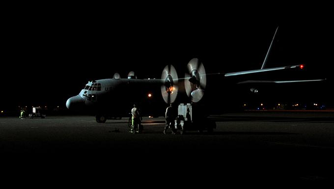 Flying Yankees complete first combat sortie