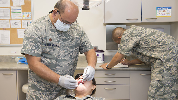 Reservists ensure Guard Airmen medically ready