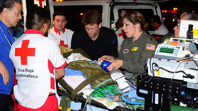 U.S. Air Force to airlift Guatemalan children injured by volcanic eruption