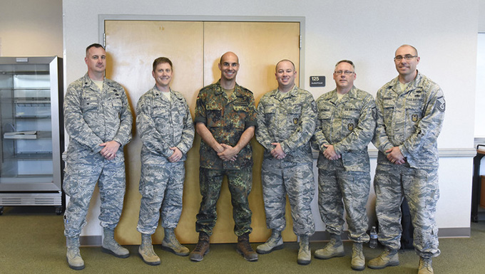 167th Airlift Wing officers participate in exchange program