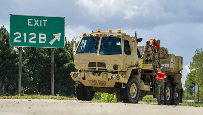 Guard Soldiers and Airmen gearing up for Hurricane Florence
