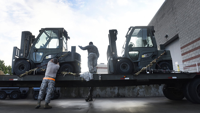 145th Logistics Readiness Squadron Sends Back-Up