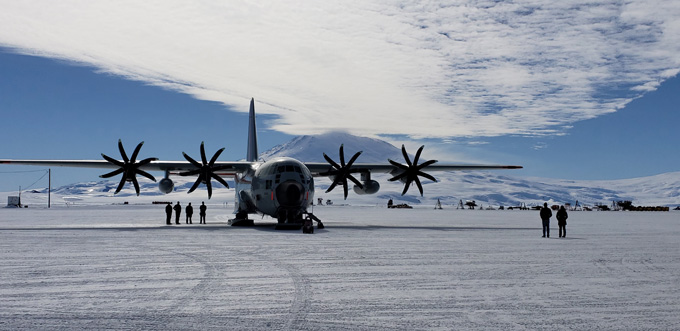 109th to support science missions in Antarctica