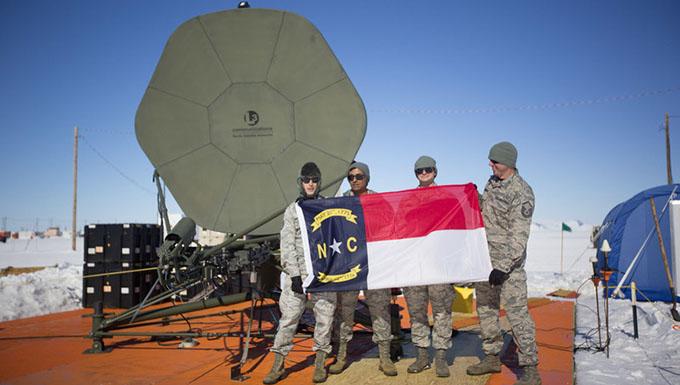 North Carolina Guard team enhances Antarctic communications