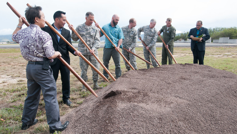 Air Defense Mission breaks ground on new facility