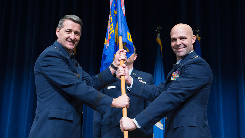 Air Guard training and education center welcomes new commander