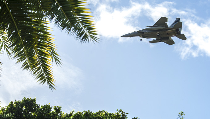 Total-force aviators take flight during Sentry Aloha 20-1