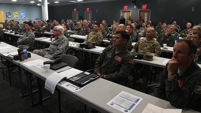 ANGRC hosts ANG safety officers, squadron commanders, for Mishap Prevention Workshop