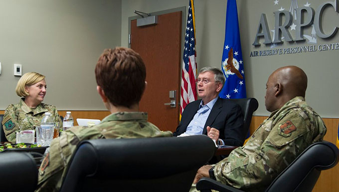 HQ ARPC hosts EDANG for in-depth mission brief
