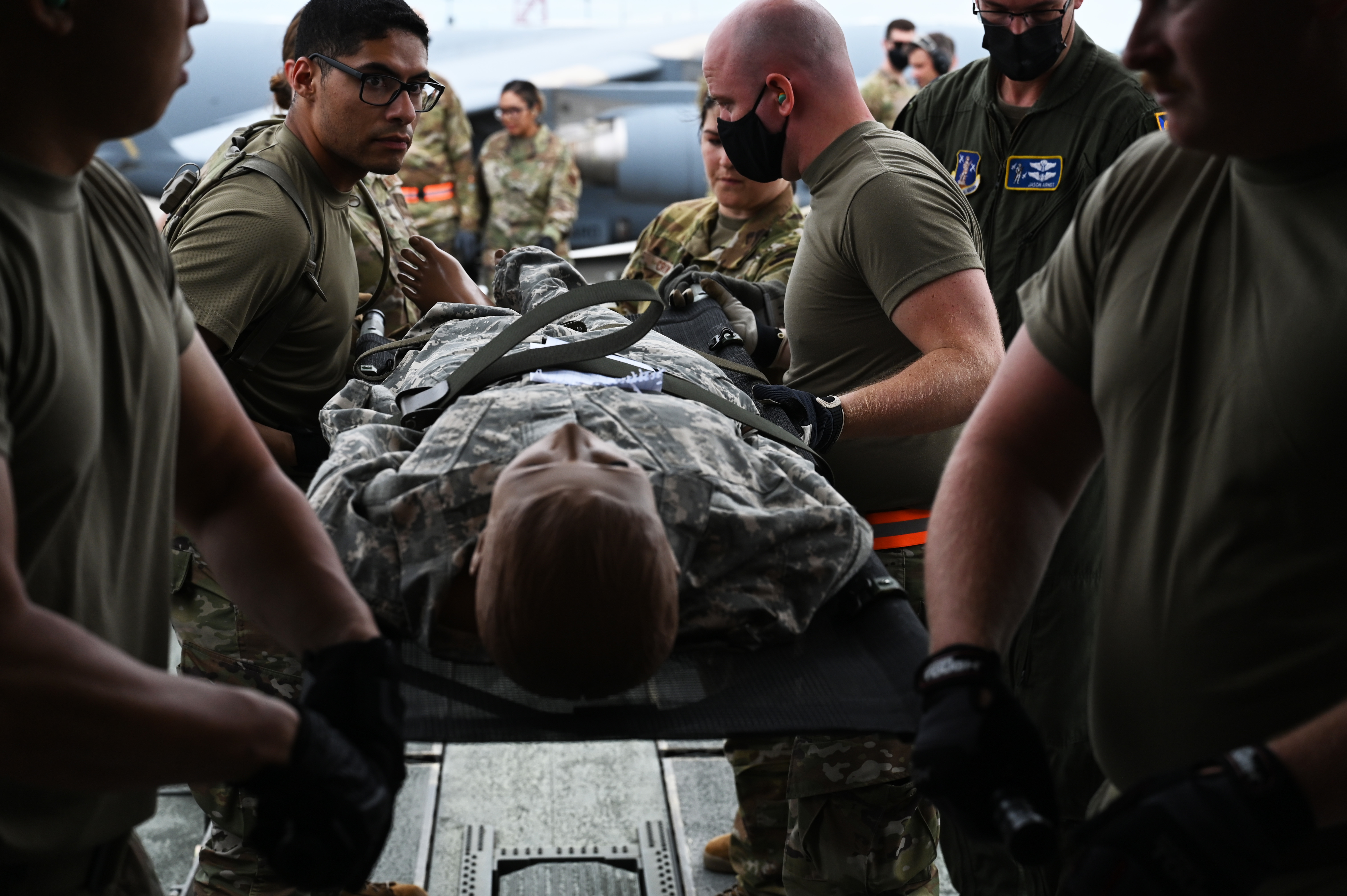 165th AW participates in Northern Strike 21 medical exercise