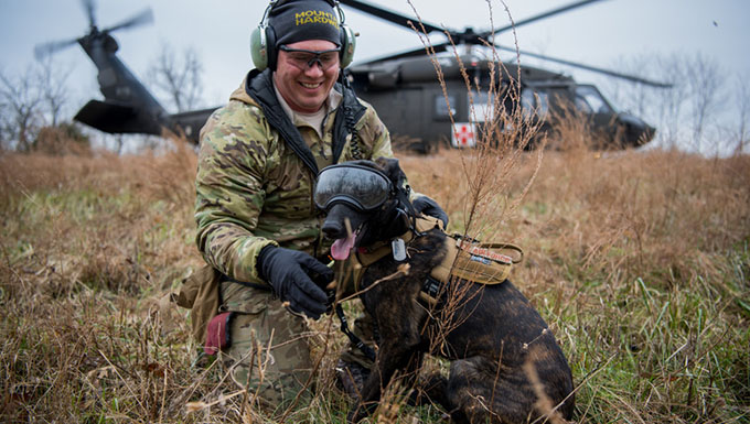 Kentucky Air Guard is home to only search and rescue dog in DoD