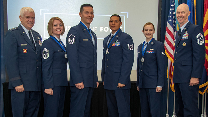 2019 Focus on the Force Week honors ANG's four Outstanding Airmen