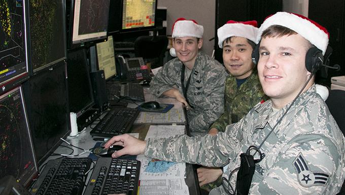 NY National Guard Airmen helping NORAD track Santa this year
