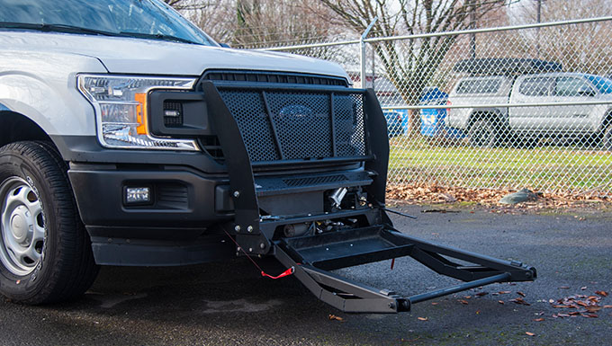 Portland ANG Base second in DOD to acquire police bumper grappler
