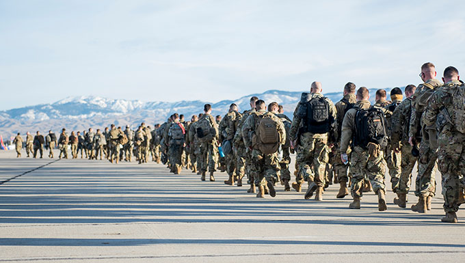 Idaho National Guard sends 300 to support inauguration