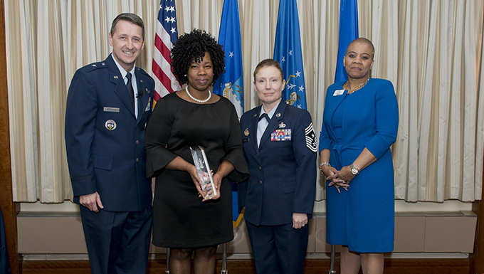 Civilian of the Year, Category 2, Oralyn Weston, CCI