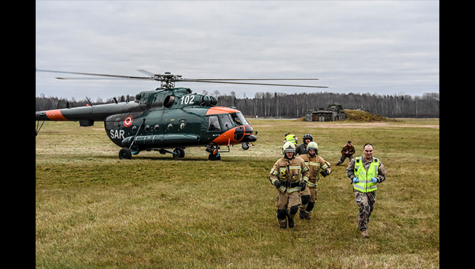 Michigan-Latvia partnership continues with response exercise