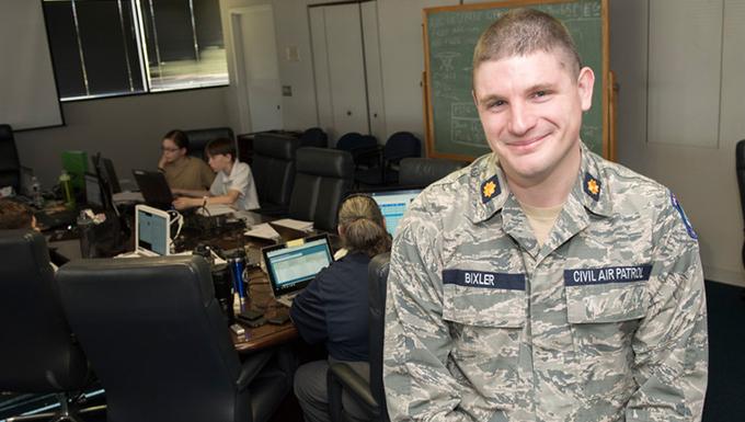 Citizen Airman serves in Air National Guard and Civil Air Patrol