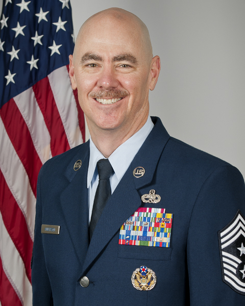 Chief Master Sgt. Ronald C. Anderson Jr.